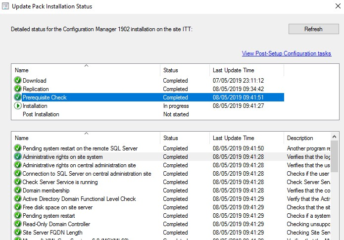 SCCM-prerequisite-check-finished
