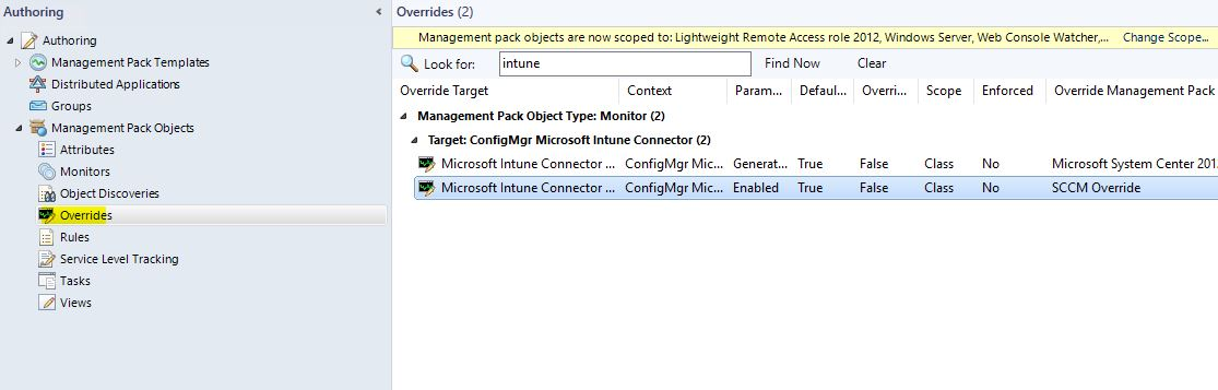 SCOM_Tune_MP_SCCM_Intune_Monitor_Disable4