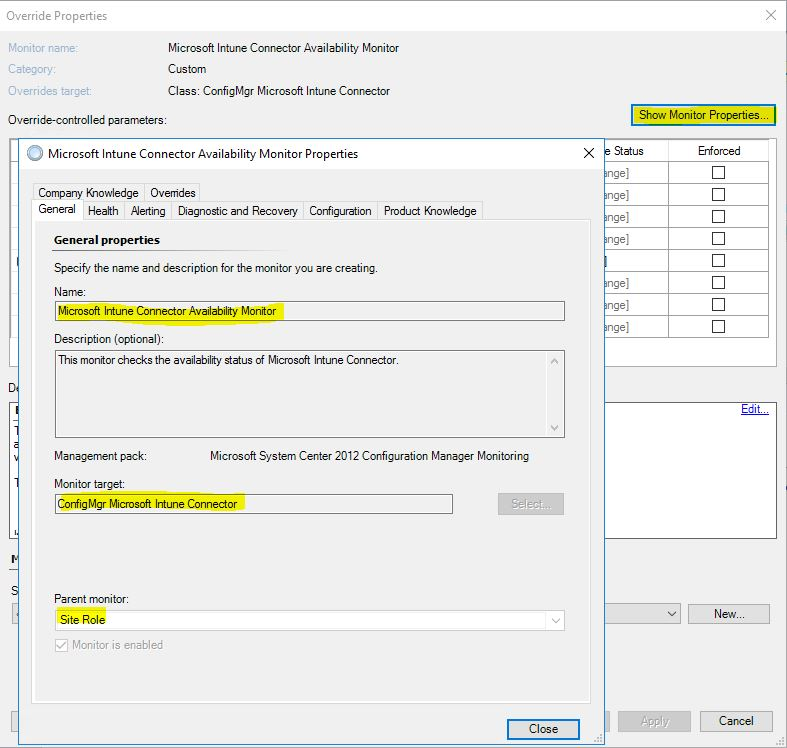 SCOM_Tune_MP_SCCM_Intune_Monitor_Properties